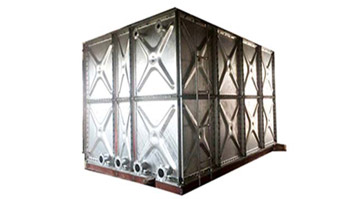 What are the advantages of our Hot-dopped Galvanized Steel Water Tank?