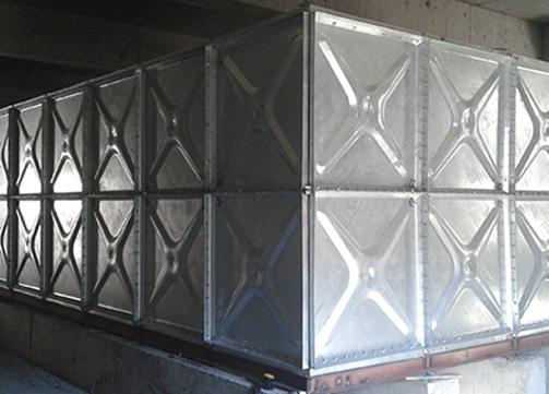 HDG Steel Water Tank