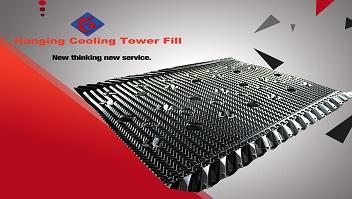 Hanging Cooling Tower Fill