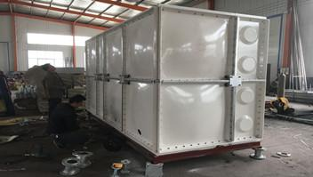 The application of GRP cold water storage tanks