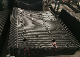 Why to clean cross flow cooling tower fill?