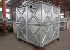 An simple introdunction of galvanized steel water tank