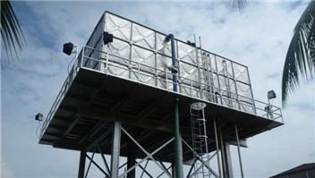 Hot dippped galvanized steel water tank accessories